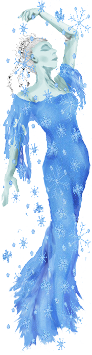A winter fairy.  Nearly did Christmas but figured I wouldn't get around to updating it for a while.  Links appeared to one side, had an animated snow background.  Fairy was translucent!