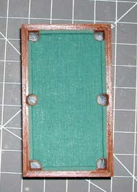 Oneluckybugcom Miniatures Inch Scale Pool Table - Life size pool table